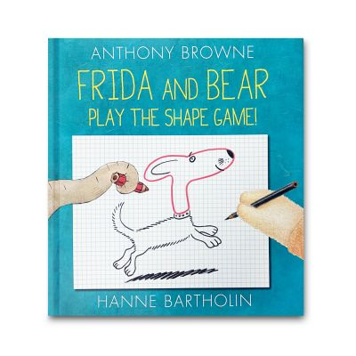 Frida and Bear Play the Shape Game