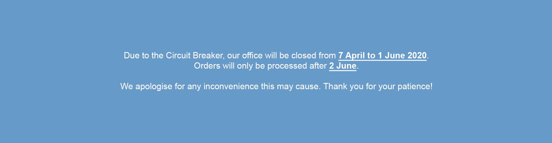 Circuit Breaker Notice
